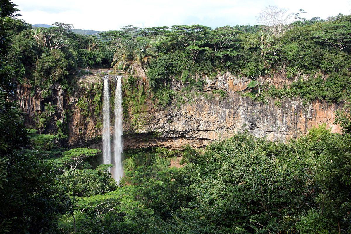 Les cascades de Tamarins