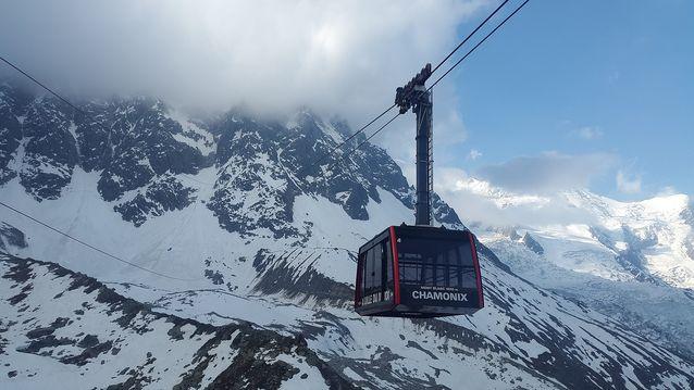 Téléphérique à Chamonix