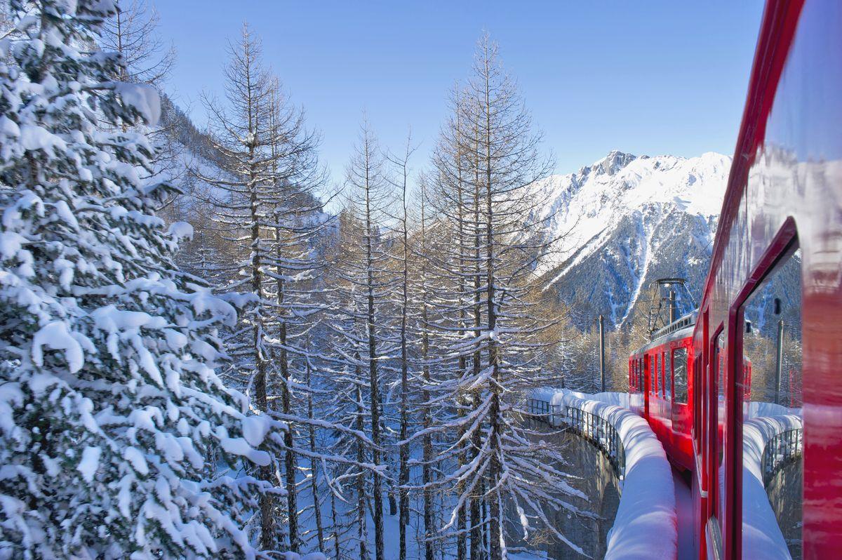 Le petit train à crémaillère de Montevers