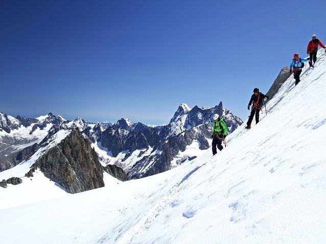 Alpinisme en groupe