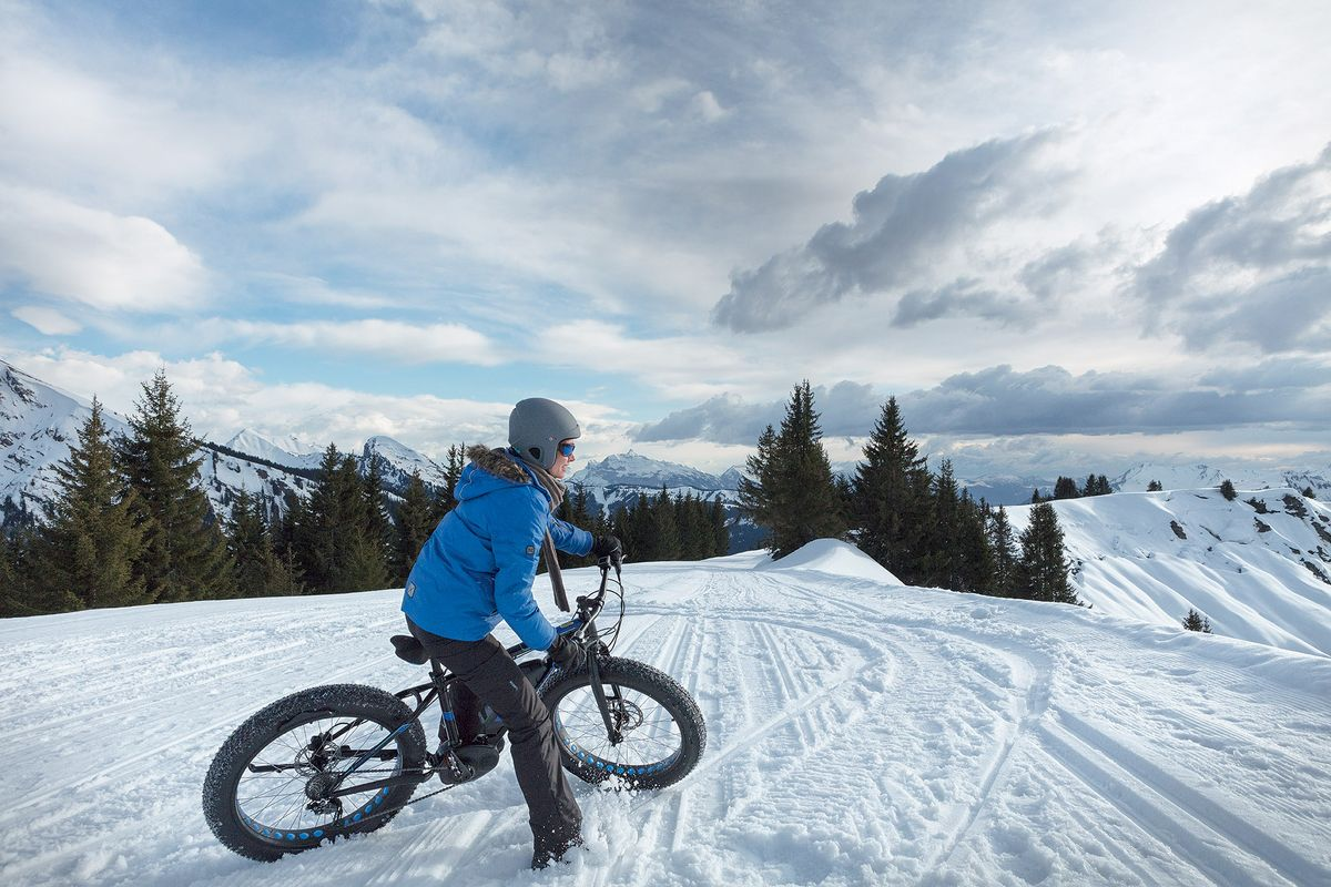 Le Fat Bike à Avoriaz