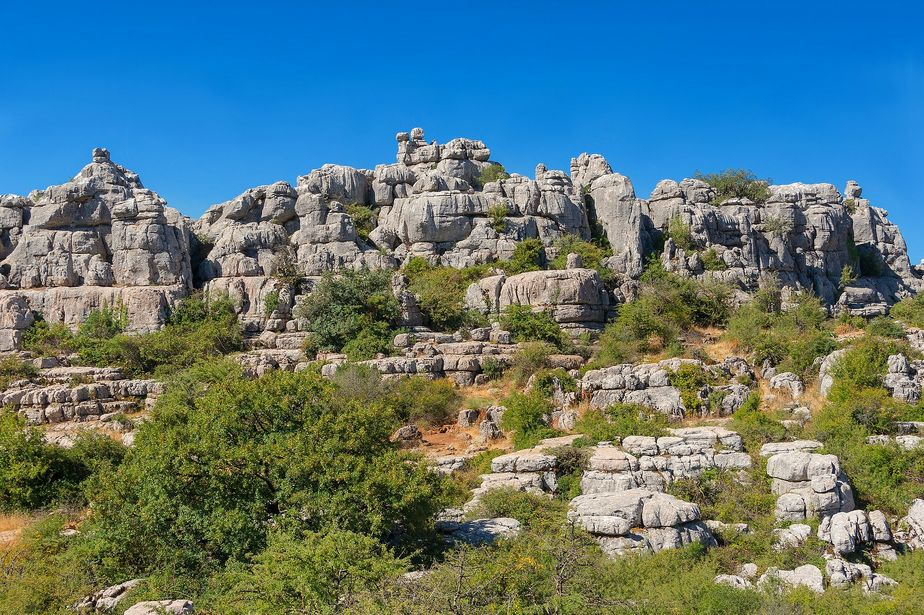 La Réserve naturelle d'El Torcal à Malaga