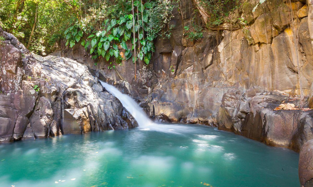 La cascade du Saut d'Acomat en Guadeloupe