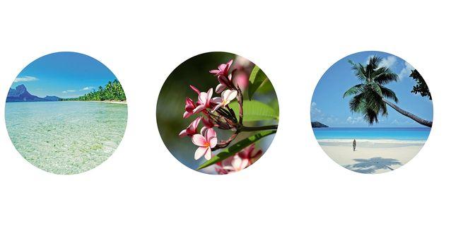 Les paysages des Antilles