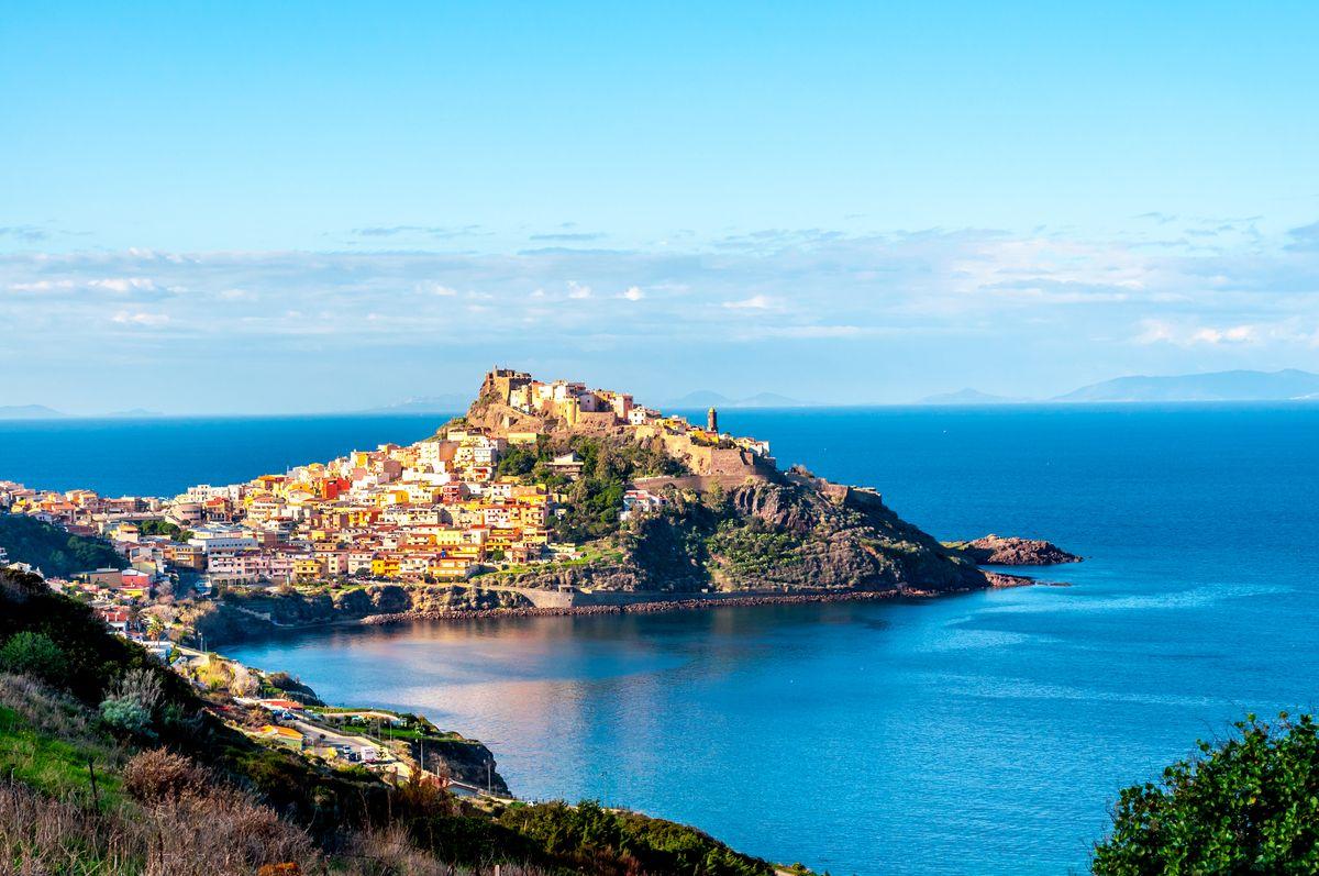 Presqu'île en Sardaigne