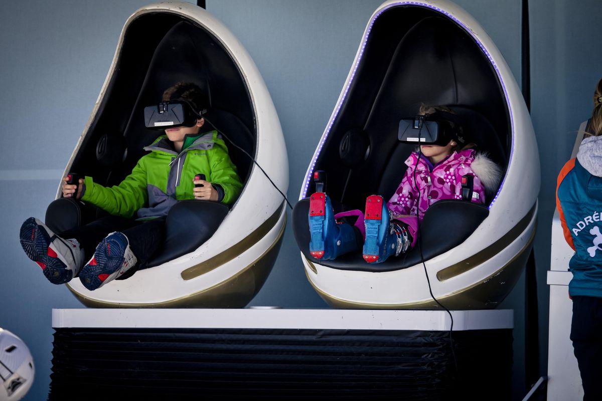 Activité Réalité Virtuelle à La Plagne Subli'cimes