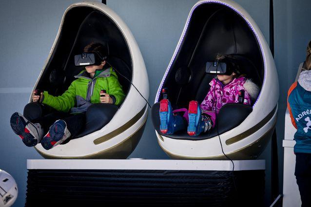 Activité Réalité Virtuelle à La Plagne - Subli'cimes