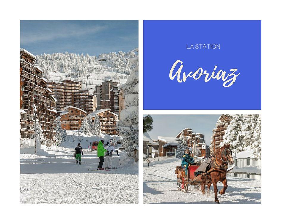 La station de ski d'Avoriaz