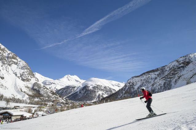 Station de ski - Val d'Isère - où skier en mars