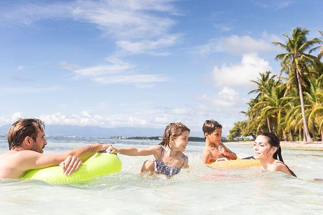 Une famille en Guadeloupe