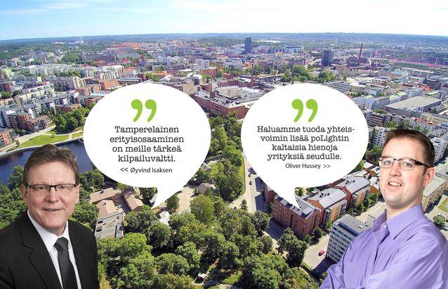 Tamperelainen erityisosaaminen on yrityksille tärkeä kilpailuvaltti