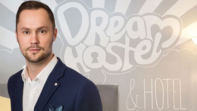 Dream Hostelin toimitusjohtaja Ville Virkki