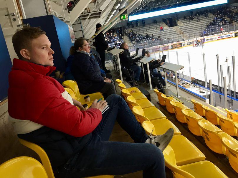 Carolina Huricanes NHL-scout Ville Virta