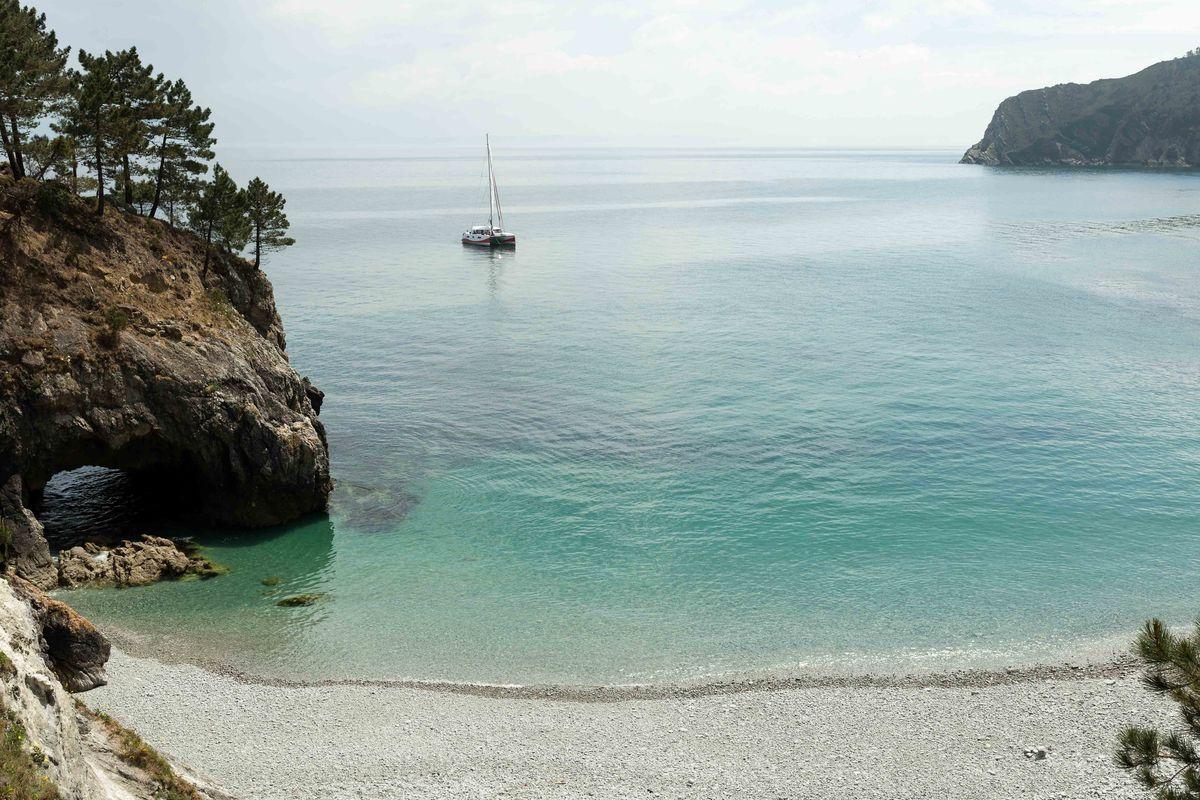 Plage de l'Île Vierge à Crozon
