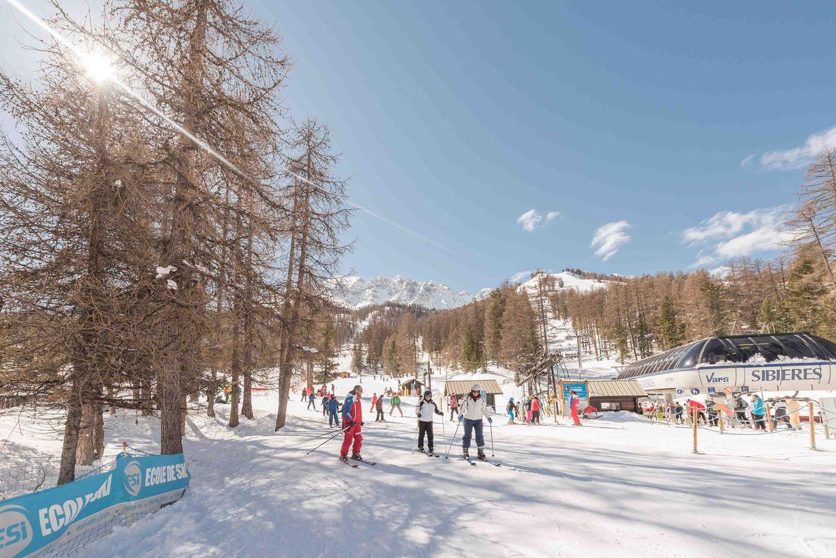 Skier à Vars