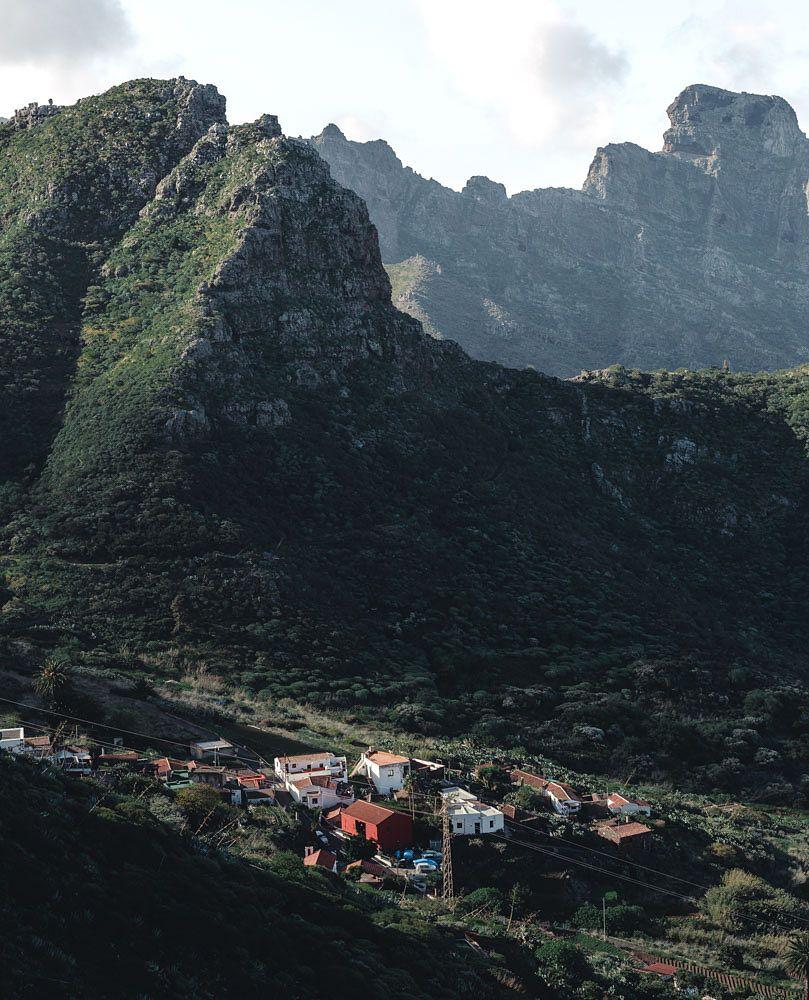 Les montagnes de Tenerife