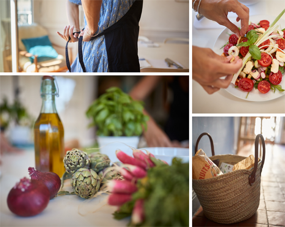 salade niçoise rendezvouscheznous Pierre et Vacances location d'appartements