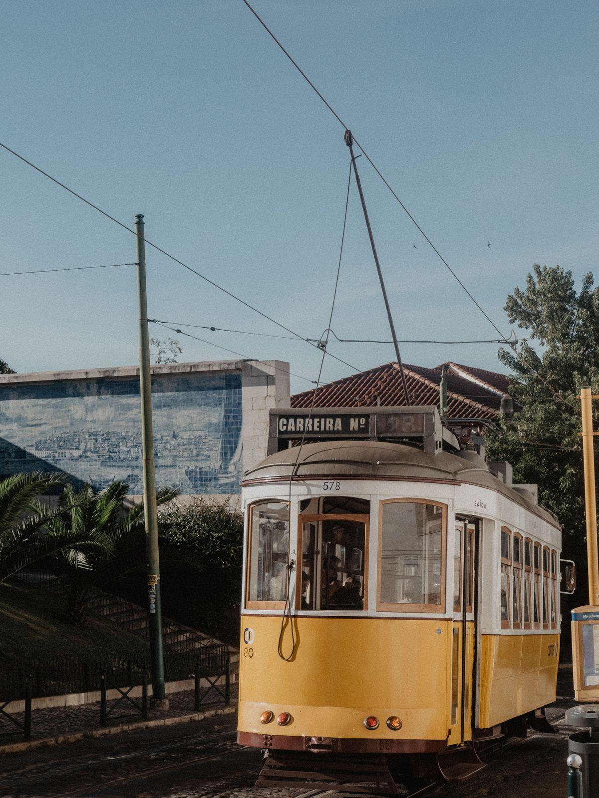 Promenade en tram à Lisbonne