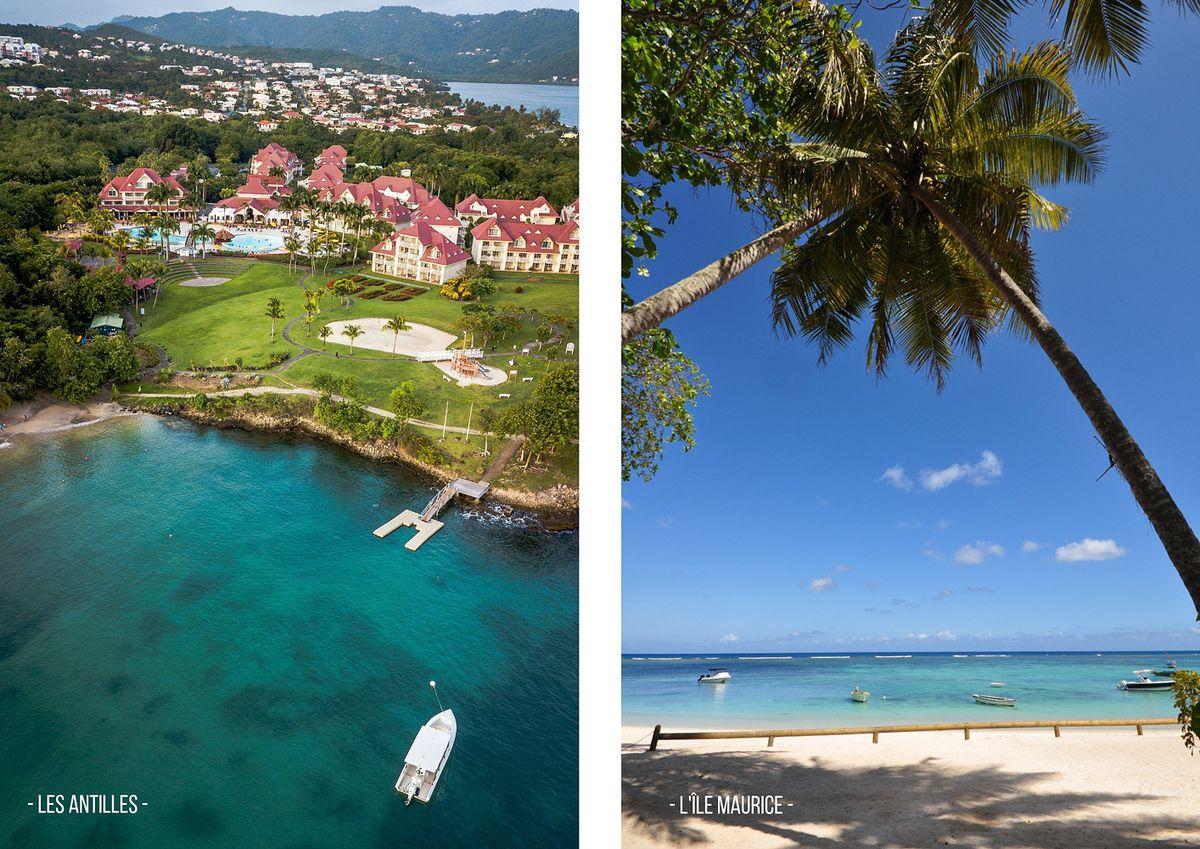 Les Antilles et l'Île Maurice