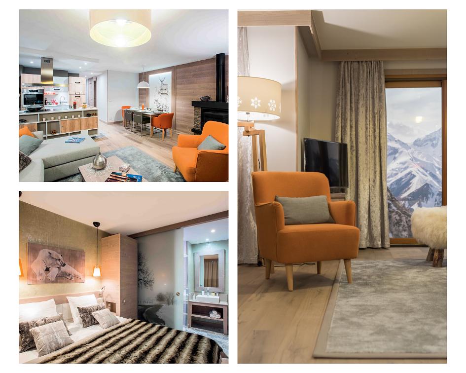Appartement Exception résidence premium Pierre et Vacances L'Hévana *****
