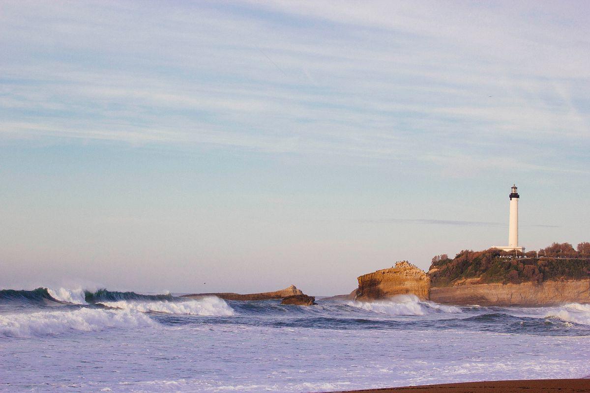 La côte de Biarritz