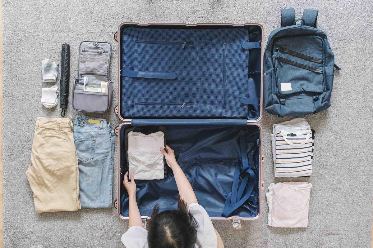 Bien ranger sa valise de voyage