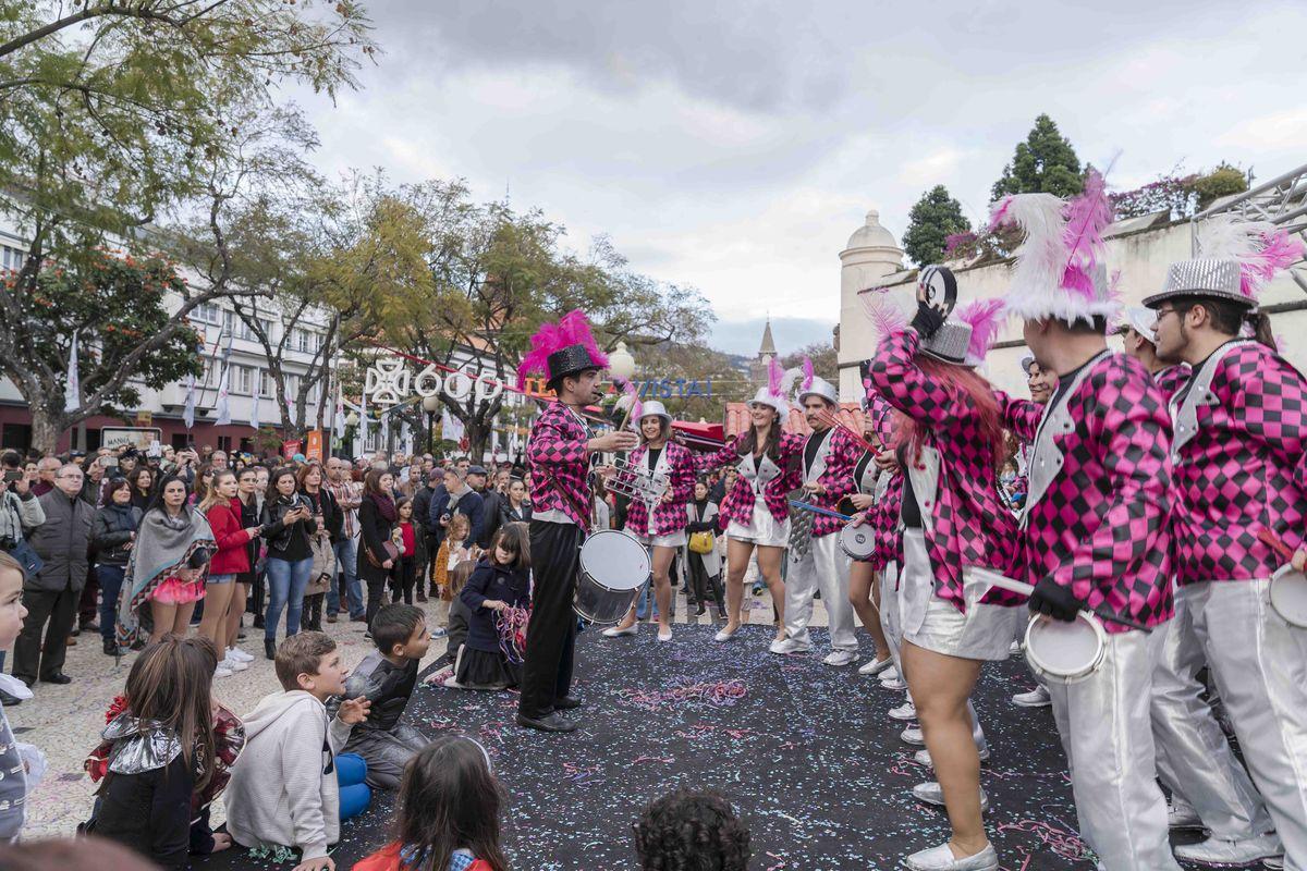 Carnaval de Madère à Funchal