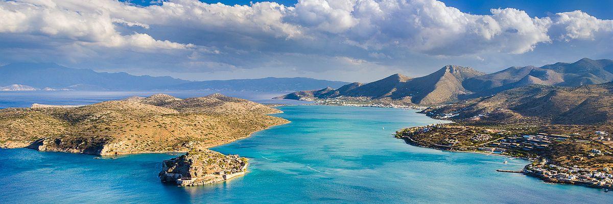 Crète - Baie de Mirabello île de Spinalonga