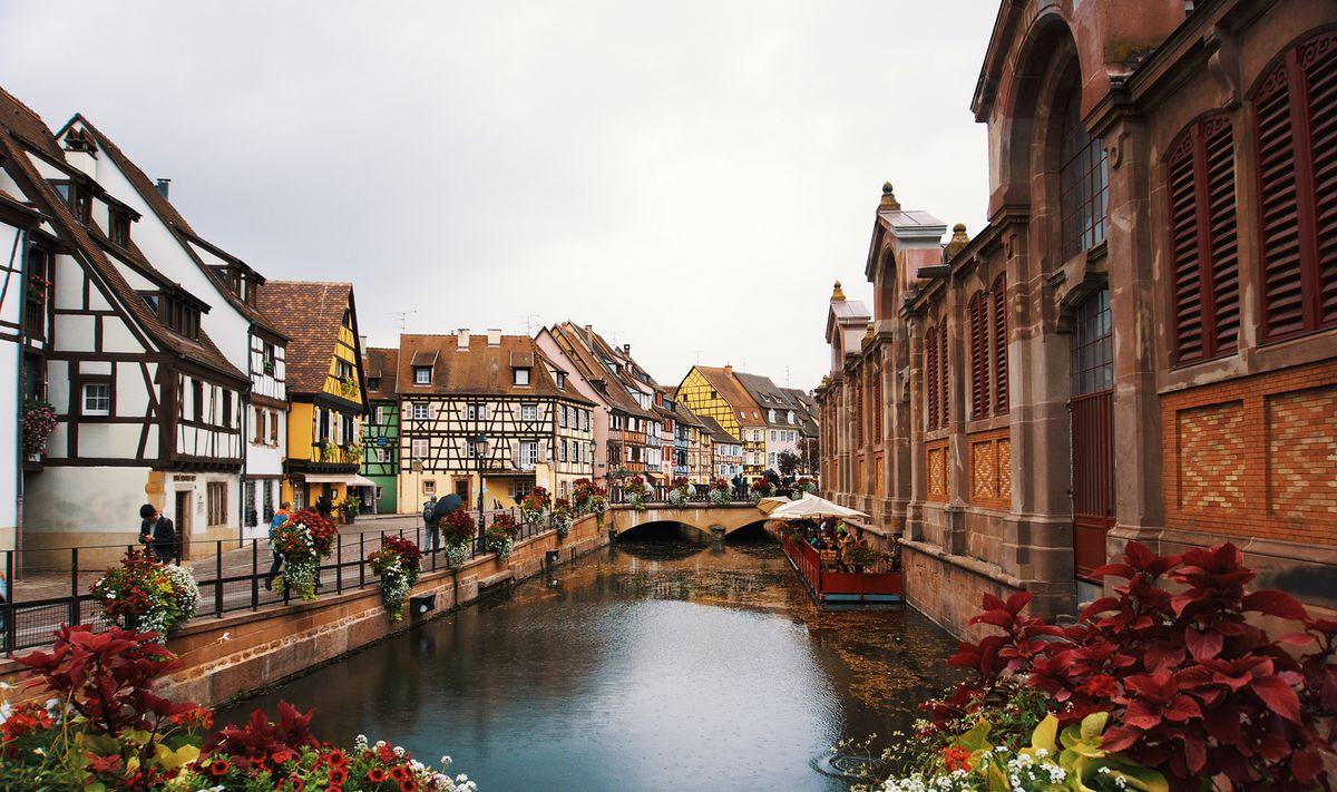 Vue de la cité de Colmar appelée la Petite Venise