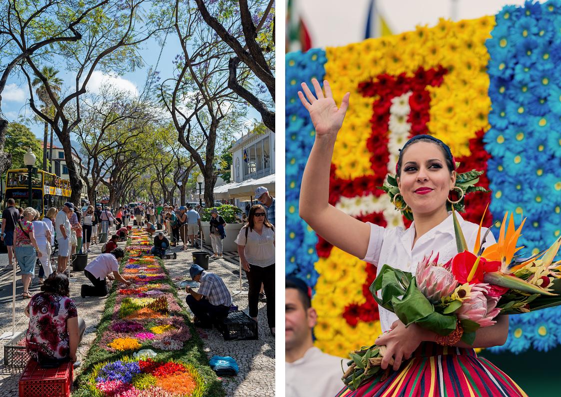 Fête de la Fleur à Madère