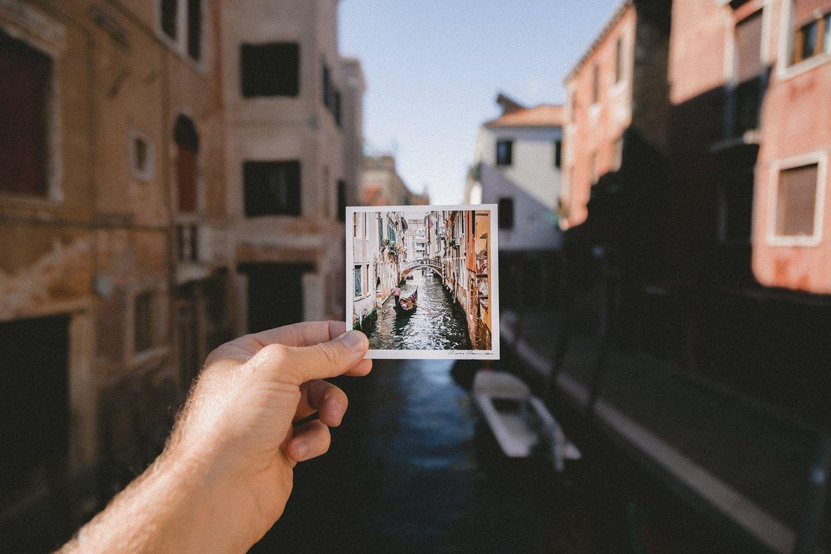Balade sur les canaux à Venise