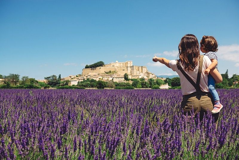 lavande Provence création de parfum à la lavance vacances