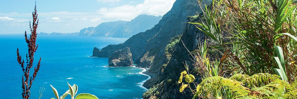 Madère - bords de mer - côte