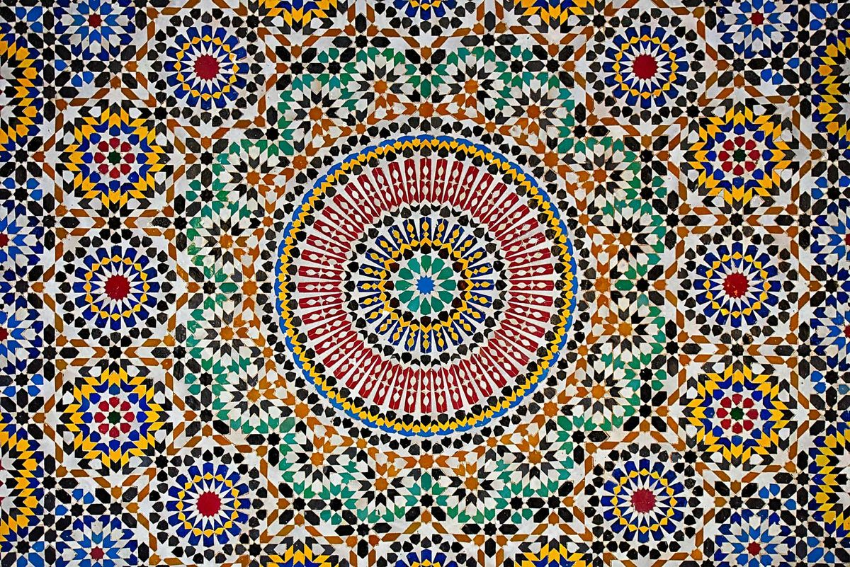 mosaïque marocaine