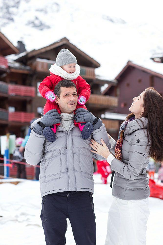 Vacances au ski avec bébé