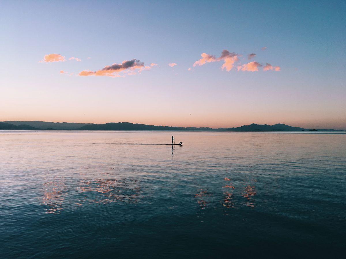 Activité paddle durant les vacances
