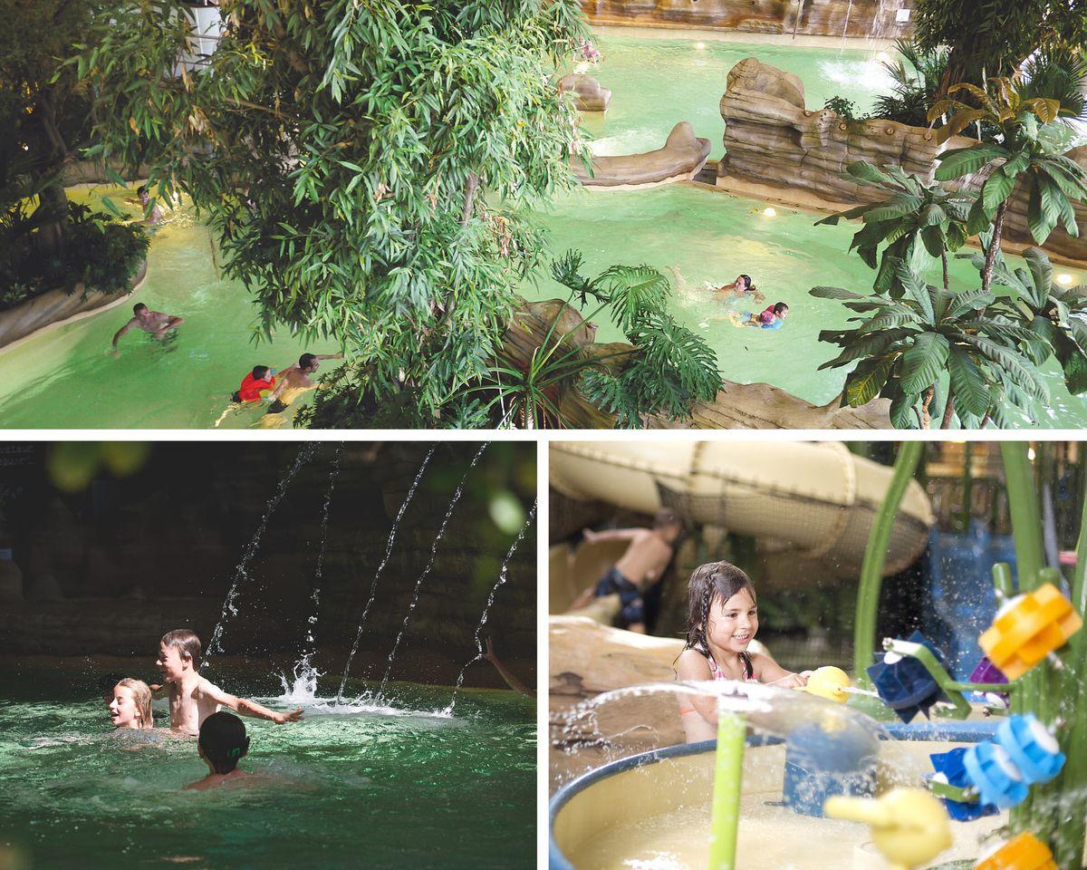 Parc aquatique Aquariaz à Avoriaz