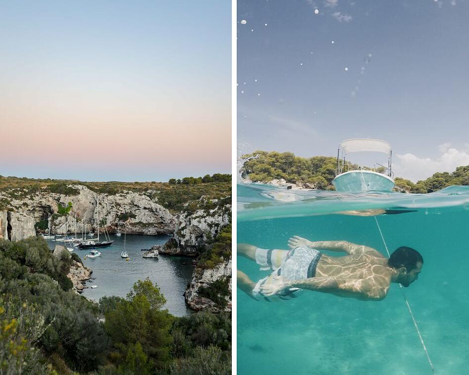 Partir en vacances à Minorque