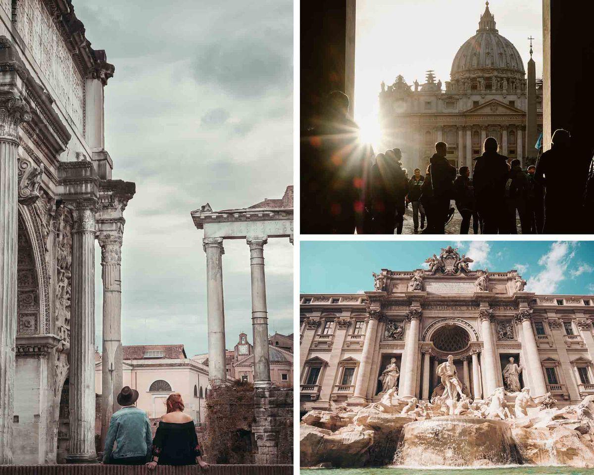 Partir à Rome pour la Saint-Valentin