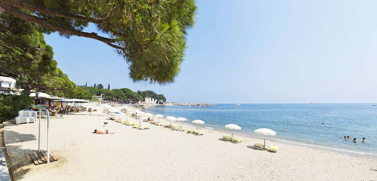 Plage des Issambres Saint-Tropez Méditerranée Pierre & Vacances