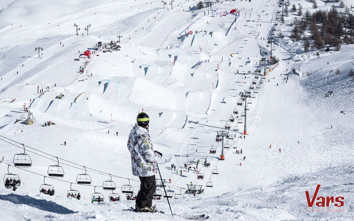 Snowparks à Vars