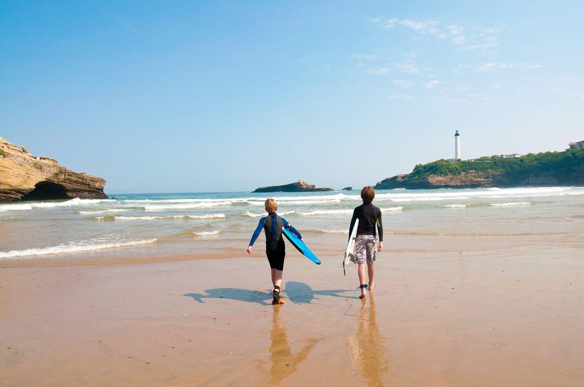 Surf à Biarritz