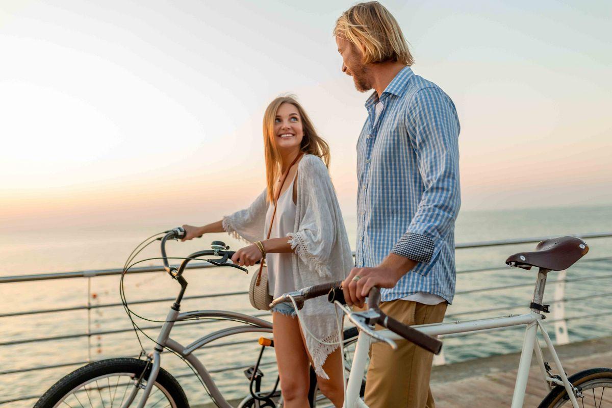 Vacances en vélo en amoureux