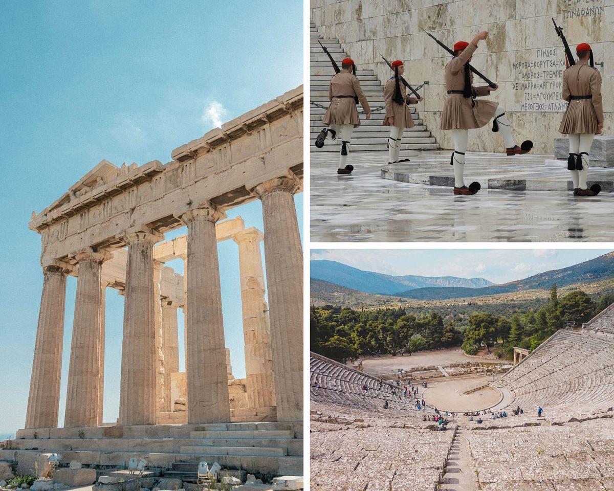 Vacances en septembre en Grèce, à Athènes