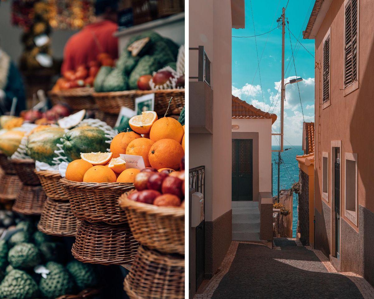 Vacances sur l'île de Madère