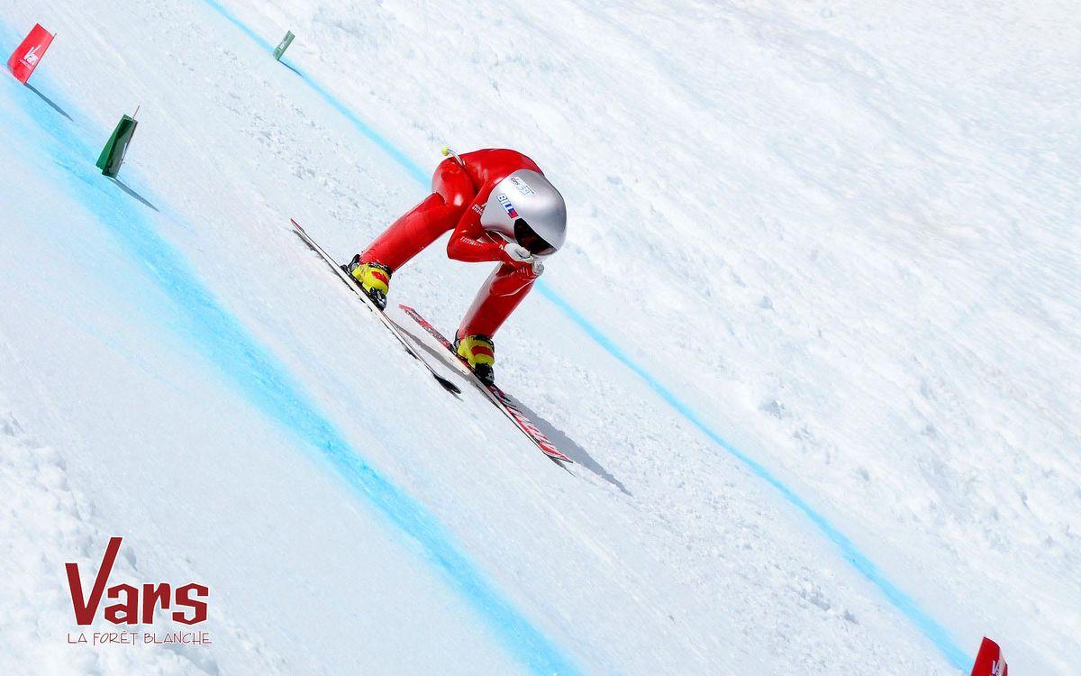 Ski de vitesse à Vars