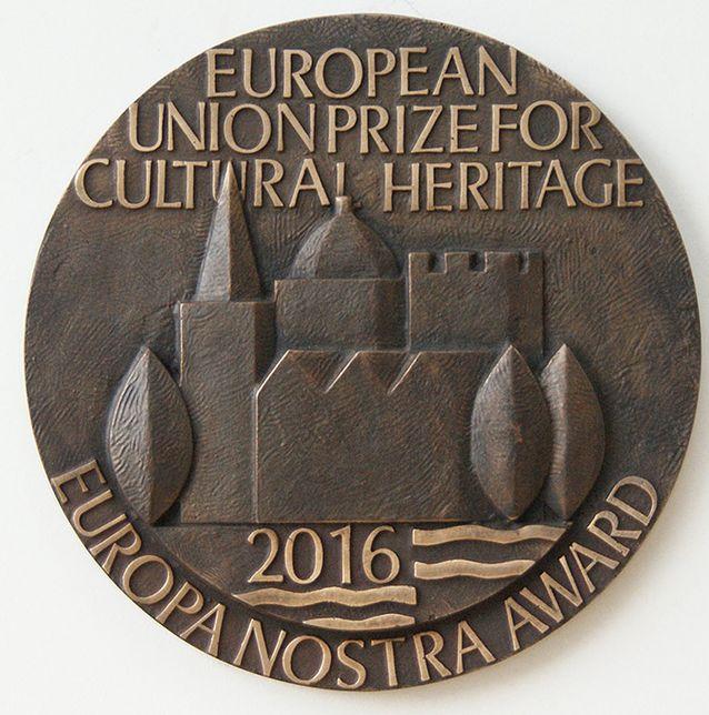 Europa Nostra Award -mitali