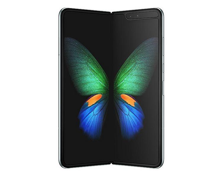 Samsung Galaxy Fold avautuu kirjan tavoin.