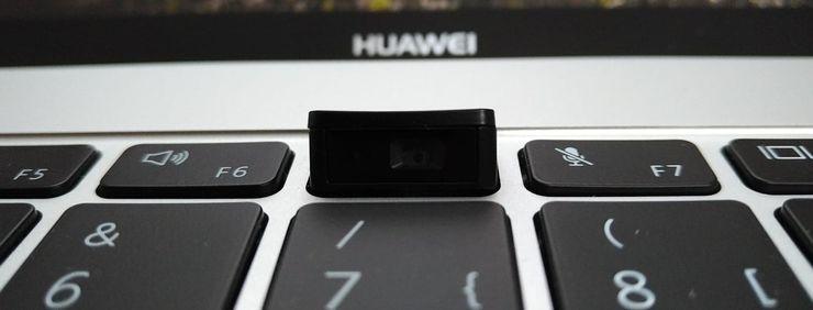Erikoinen web-kamera on MateBook X Pron mahdollinen kompastuskivi.