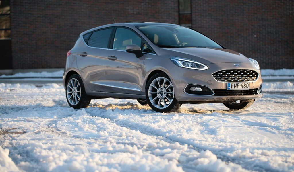 Ford Fiesta Vignale >> Koeajossa Ford Fiesta Vignale Pikkuauton Meikatumpi Versio
